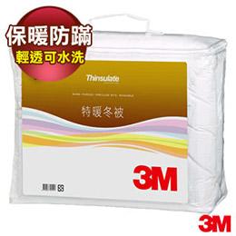 3M Thinsulate輕透可水洗特暖被 標準雙人