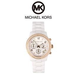 MK 陶瓷水鑽三環手錶