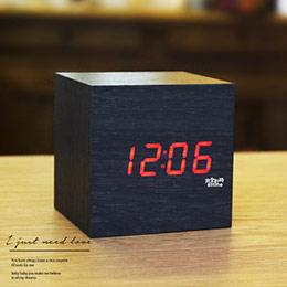 趣味時尚 木頭造型小鬧鐘