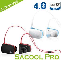 Avantree Sacool Pro 防潑水入耳後掛式運動藍芽耳機