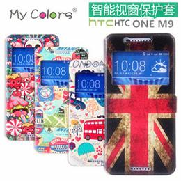 HTC One M9 彩繪皮套