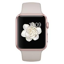 Apple Watch 42mm玫瑰金