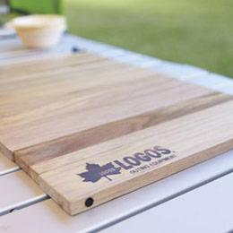 日本LOGOS 摺疊式木製 砧板