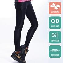 超高彈性吸排加壓運動長褲