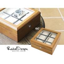 質感原木盒6只裝】原木收藏盒 按鈕釦