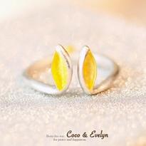 925純銀兔耳朵戒指