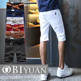 韓國皮標彈性短褲