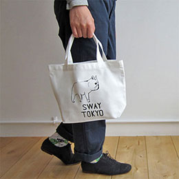 SWAY TOKYO 小帆布托特包