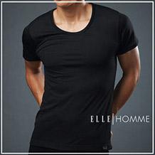 ELLE HOMME吸濕排汗短袖T恤