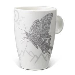 甲骨文組-彩蝶雙飛馬克杯