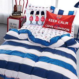 美國棉雙人兩用被床包組