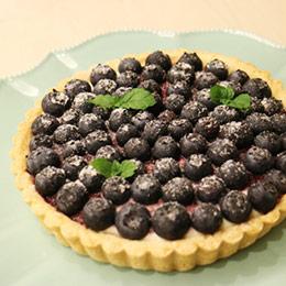 新鮮藍莓乳酪塔6吋