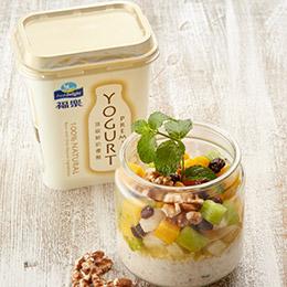 福樂頂級鮮奶優格500g 4入特惠組送聖桃園果醬組