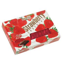 草莓季報到!明治草莓巧克力
