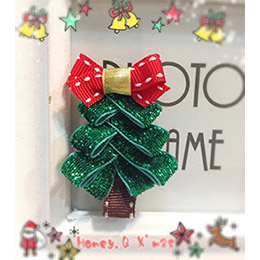 閃亮亮聖誕樹髮夾