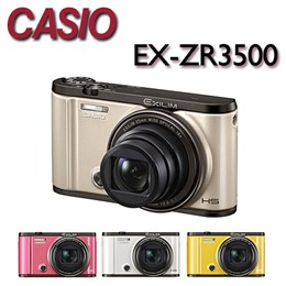 CASIO EX-ZR3500 美肌自拍相機