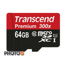 300X 創見 Transcend microSDXC 64G 記憶卡