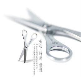 時尚優雅日本不鏽鋼可分離式食物剪刀