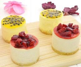 百香果重乳酪❤草莓重乳酪(4入)