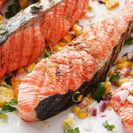 智利特選 厚切鮭魚390g/片