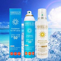 Shills舒兒絲 很耐曬美白冰鎮防曬噴霧 三入組