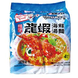 韓寶龍蝦海鮮泡麵組