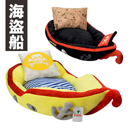 Kojima 兇猛海盜船造型床組(附海盜枕)