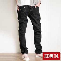 EDWIN 503 BLUE TRIP 不對稱口袋AB窄版褲