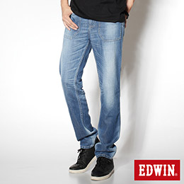 EDWIN COOL RELAX 雙面穿窄管牛仔褲