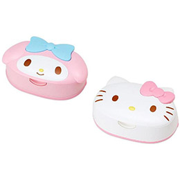 日本製HELLO KITTY美樂蒂濕紙巾盒