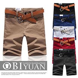 韓國皮標彈性短褲399