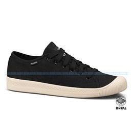 Palladium Flex Lace 黑色水洗布休閒鞋