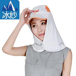 冰紗防曬臉罩,帽帽升級抗夏
