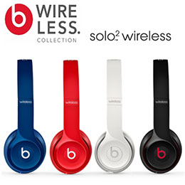 Beats Solo 2 Wireless 頭戴式藍牙無線耳機