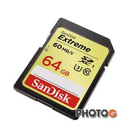 新帝 SanDisk 400X 64G / 64GB Extreme SDHC 記憶卡