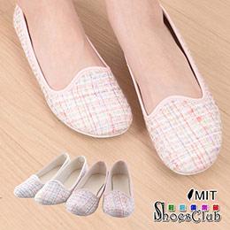 時尚百搭粉樣色彩娃娃鞋