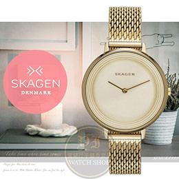 SKAGEN 丹麥設計品牌超薄簡約美學腕錶