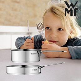 可愛系列-單把奶鍋+平底鍋組合