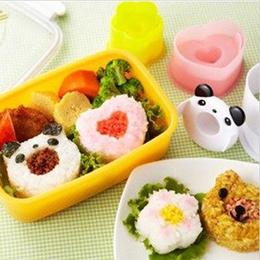 飯糰壽司可愛熊貓 - 模具四件組
