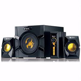 Genius昆盈 SW-G2.1 3000 金燦飛蠍重低音音響組