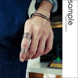 C型戒指組 (1組2個)