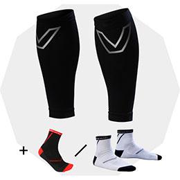 SHAPER MAN - 耐力壓縮小腿套
