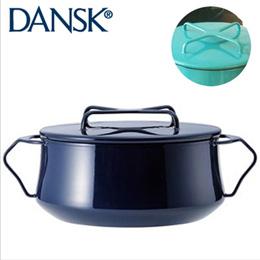 Dansk 北歐風 2QT 雙耳珐瑯燉煮鍋