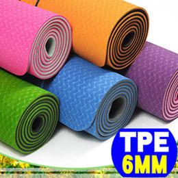 環保TPE 6MM雙色瑜珈墊