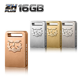 ZH Plus USB3.0 16GB 鋅合金精工隨身碟