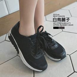 拼色復古運動休閒鞋(2色)