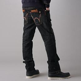 EDWIN BLUE TRIP 牛皮袋蓋牛仔褲