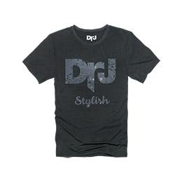 DrJ 個性造型短T 深灰色