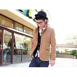 韓版李敏鋯 大領外套
