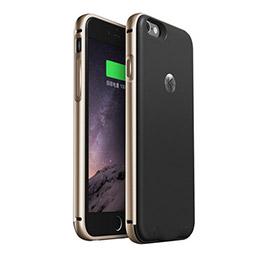 酷殼iPhone 6 充電版保護殼《經典黑棕款》 經典黑棕款》